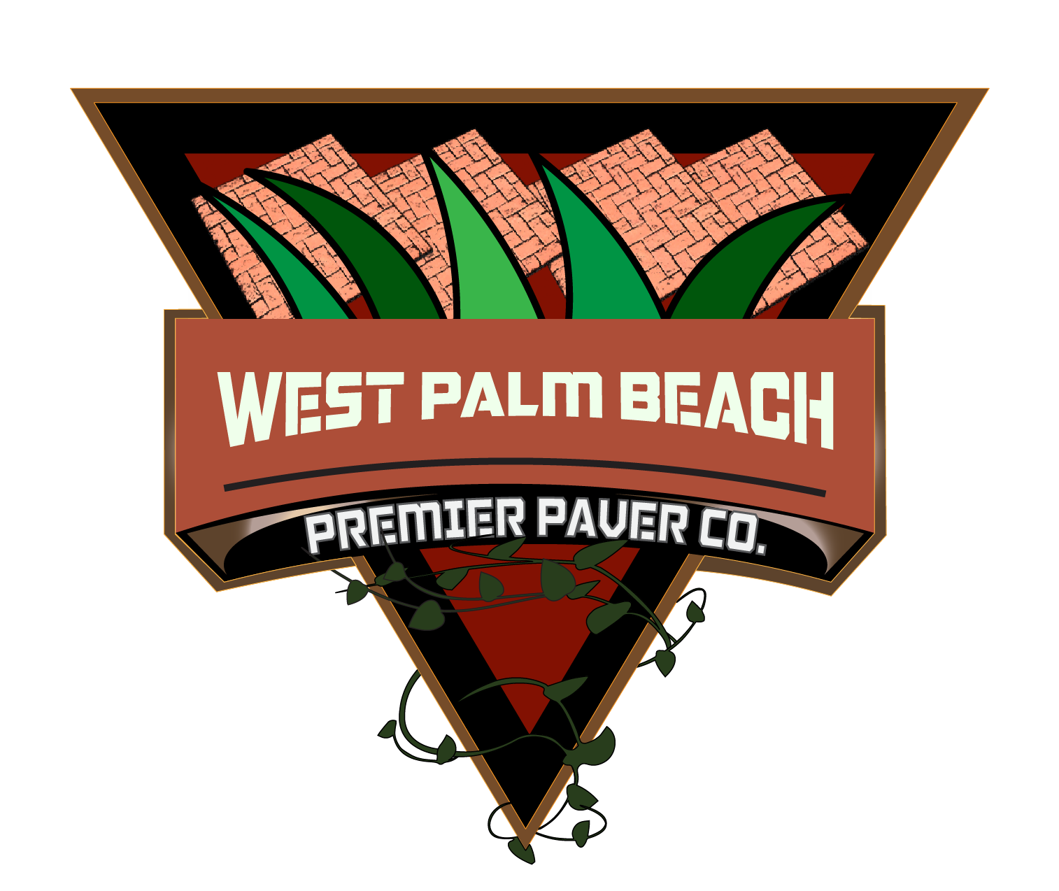 west palm beach pavers logo